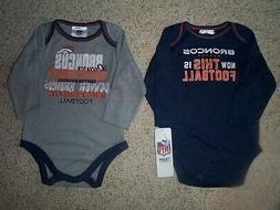 Denver Broncos nfl INFANT BABY NEWBORN Jersey Shirt 18M 18