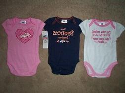 Denver Broncos nfl INFANT BABY NEWBORN Jersey Shirt 18 M 18