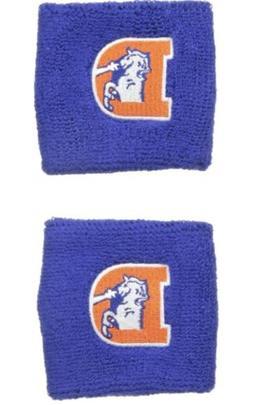 Brand New Denver Broncos Vintage Logo Wristbands Sweatbands
