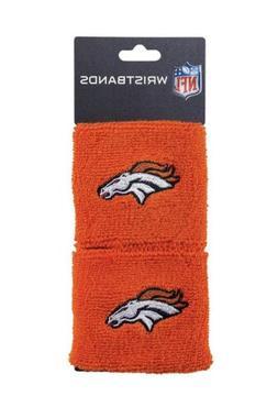 Brand New Denver Broncos Wristbands Sweatbands Two Pack Oran