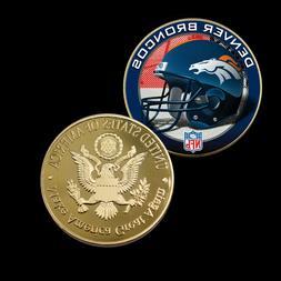 Business Souvenir Gifts DENVER BRONCOS Coin US NFL Metal Coi