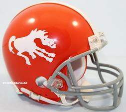 DENVER BRONCOS  Riddell VSR4 Mini Throwback Helmet