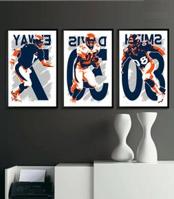 DENVER BRONCOS art print/poster FAN PACK #2 3 PRINTS! JOHN E