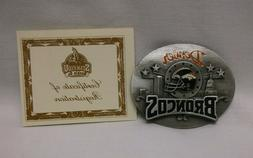 Siskiyou Denver Broncos Belt Buckle