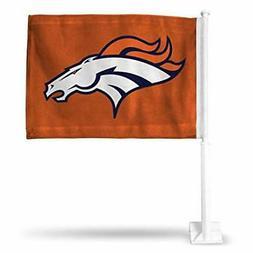 Denver Broncos Car Flag 12 x 15 Double Sided All Pro Design