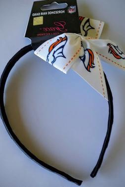 Denver Broncos Football NFL Grace Collection Bow Headband
