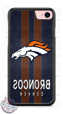 Denver Broncos Football Tread Phone Case for iPhone X 8 PLUS