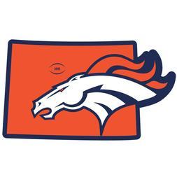 Denver Broncos Home State Magnet Colorado Shape NFL Licensed