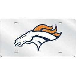 Denver Broncos Logo Mirrored License Plate