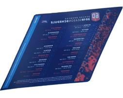 Denver broncos magnets 2019 schedule 60th season 100 year Of