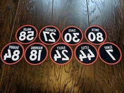 Denver Broncos Magnets - Von Miller, Peyton Manning, John El