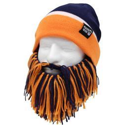 denver broncos navy blue orange knit football
