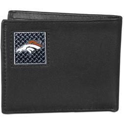 Denver Broncos Official NFL Leather Billfold Wallet