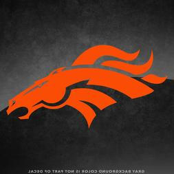 "Denver Broncos NFL Vinyl Decal Sticker - 4"" and Larger - 30+"