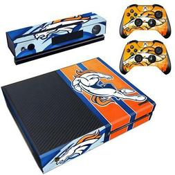 Denver Broncos NFL Xbox one Kinect 2 Controller Skin Vinyl S