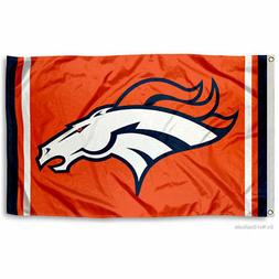 WinCraft Denver Broncos Orange Flag