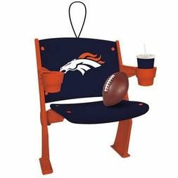 Denver Broncos Stadium Chair Ornament