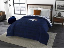 Denver Broncos Twin Full Size Bedroom Bedding Comforter NFL