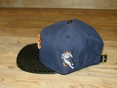 Denver New 9Fifty Faux Leather Strapback