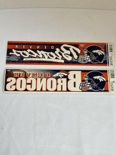 denver broncos bumper stickers