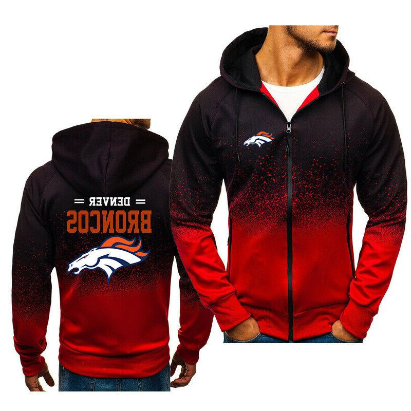 Denver Jacket Sweatshirt Zipper Coat Autumn Tops
