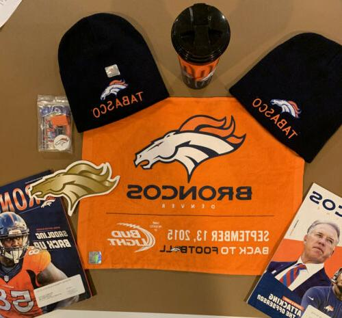 denver broncos nfl fan pack 2 tabasco