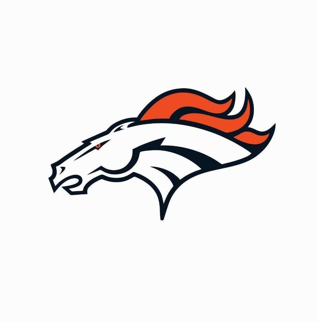 denver broncos nfl football color logo sports
