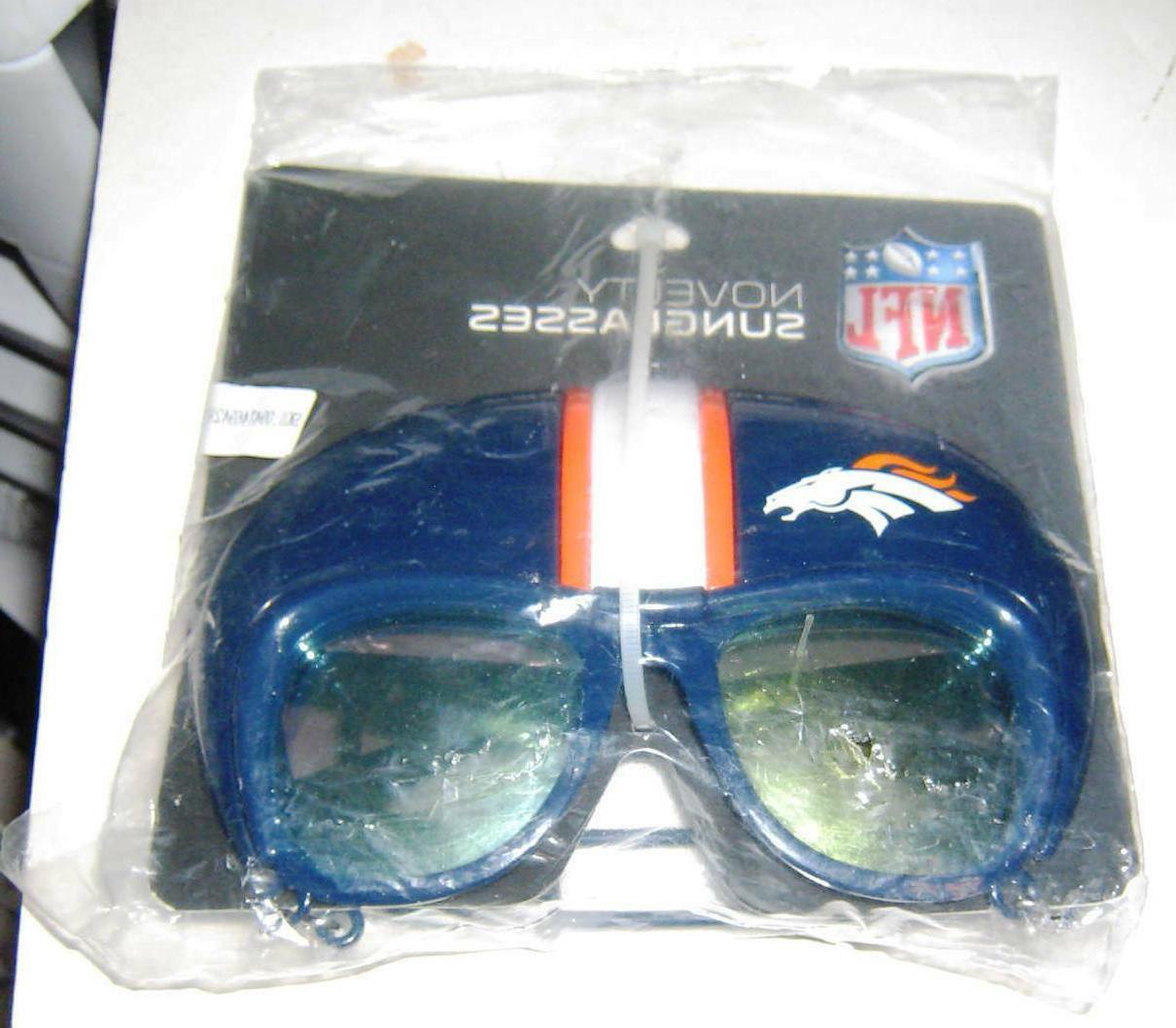 denver broncos nfl licensed novelty sunglasses free