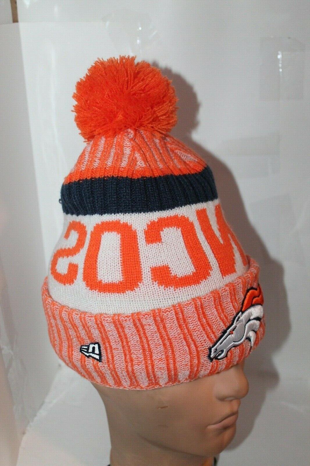 Denver Broncos Era Official Pom $ NEW