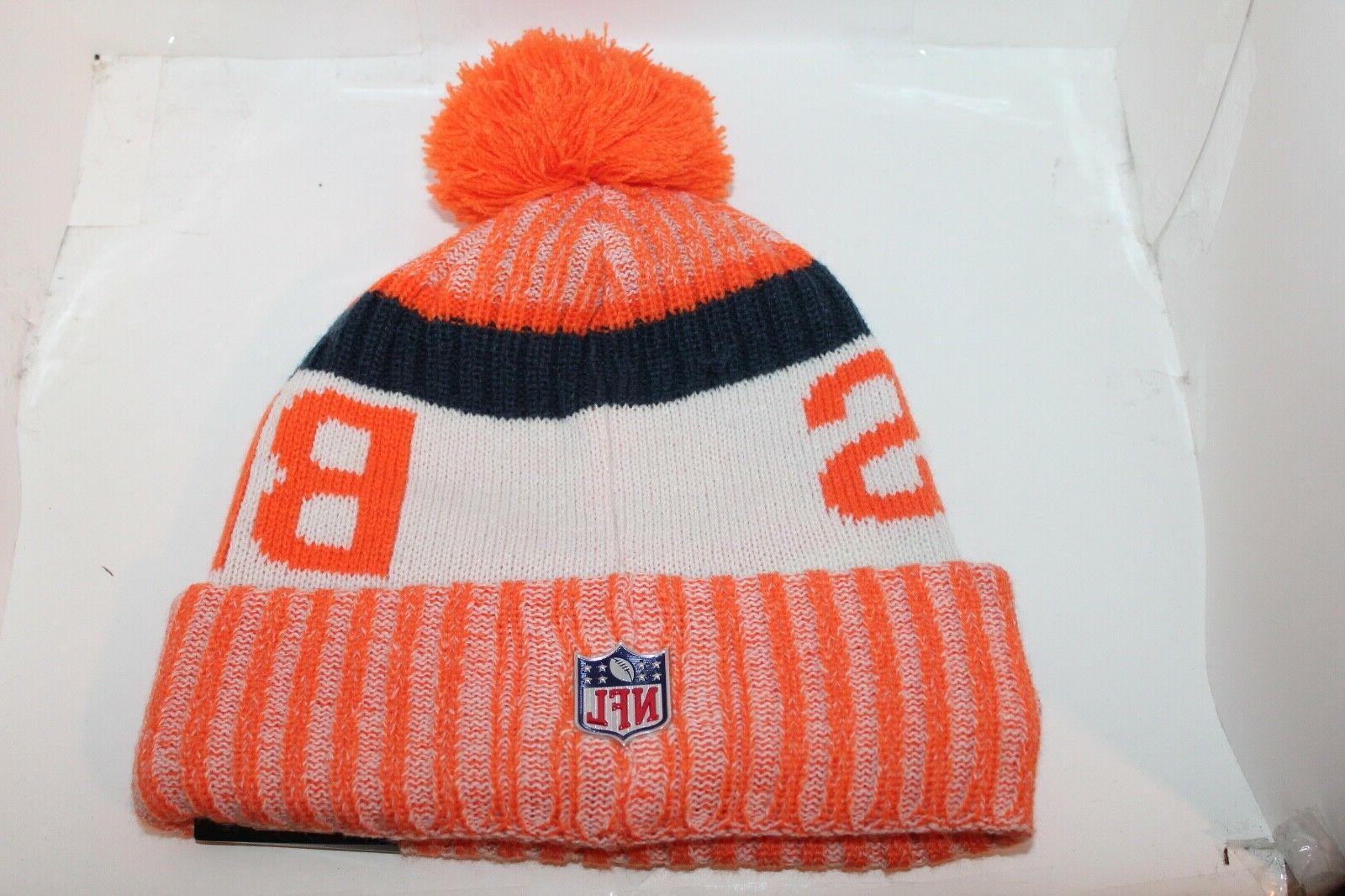 Denver Broncos Era Beanie Pom Knit $ NEW
