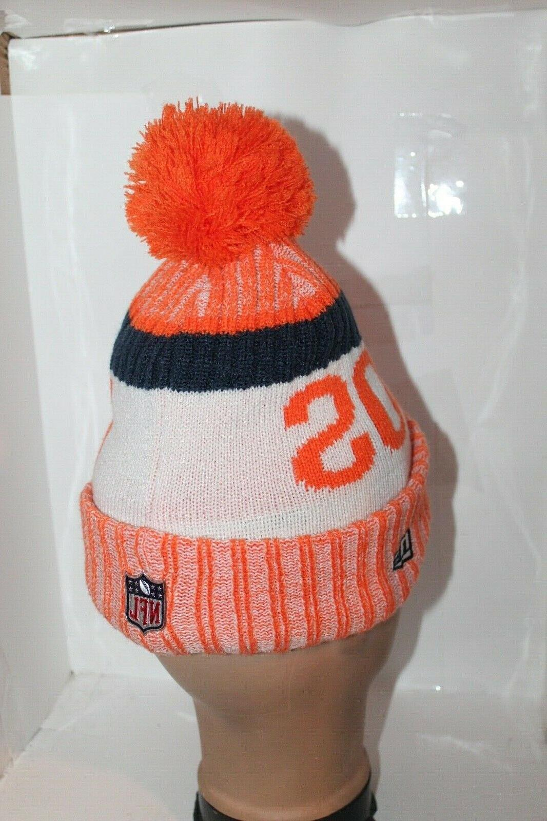 Denver Broncos NFL Era Official Beanie Cuffed $ NEW
