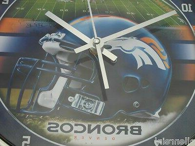 Denver Broncos Clock
