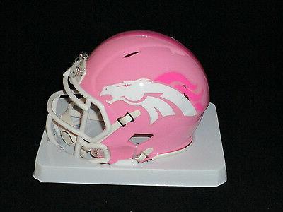 denver broncos officially licensed nfl pink speed