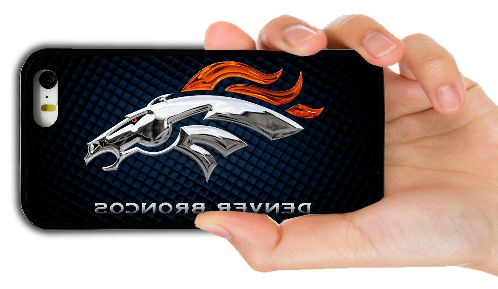 denver broncos rubber phone case for iphone