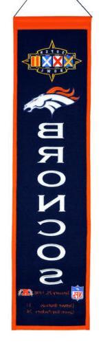 Denver Broncos Super Bowl XXXII Heritage Banner 1032