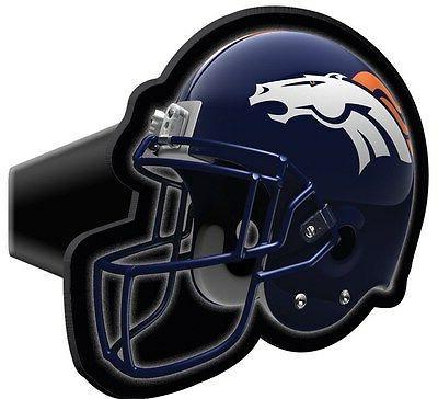 denver broncos trailer hitch cover helmet design