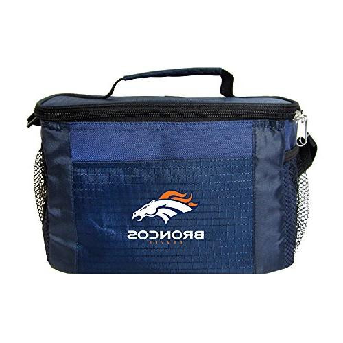 nfl denver broncos insulated lunch