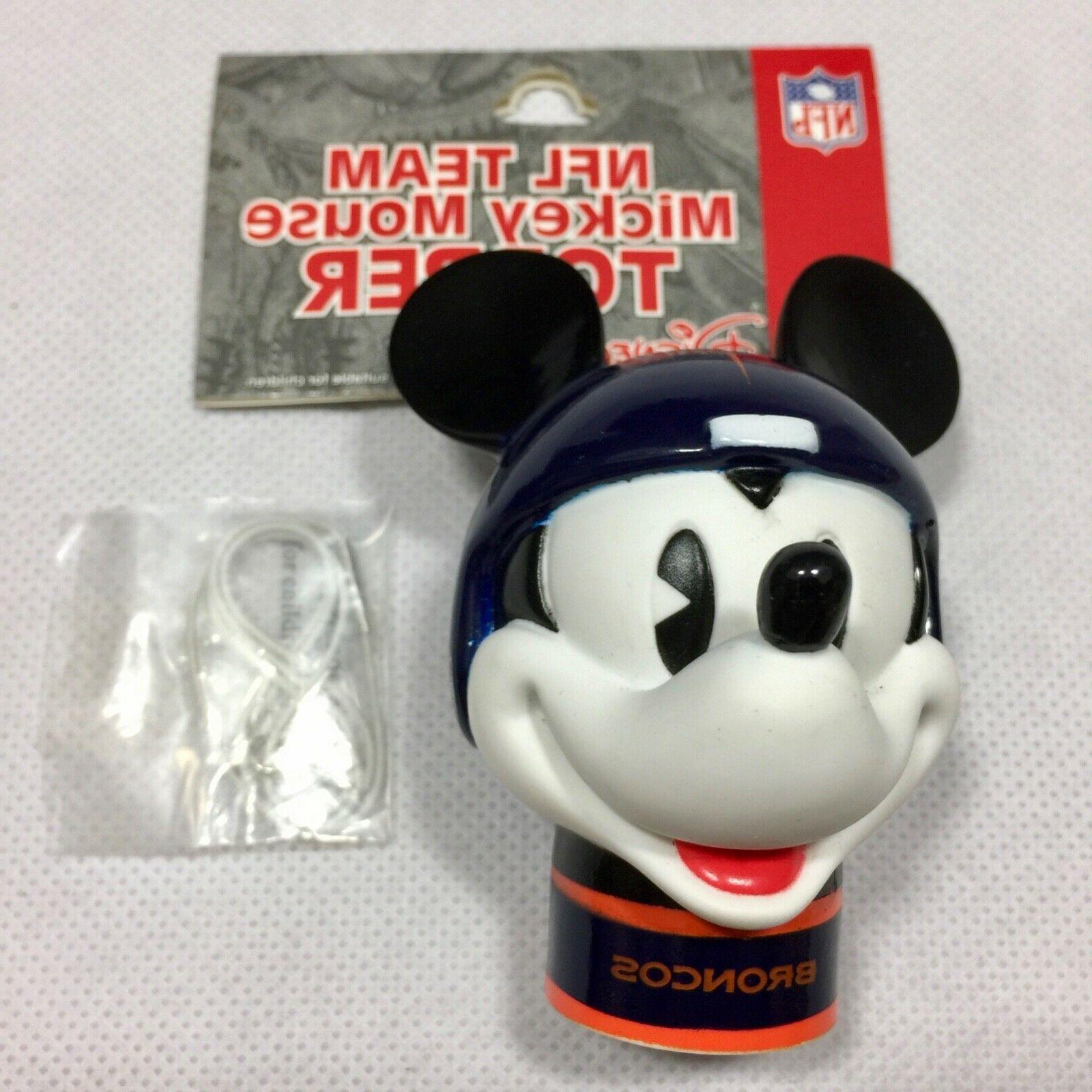 nfl denver broncos mickey mouse antenna topper