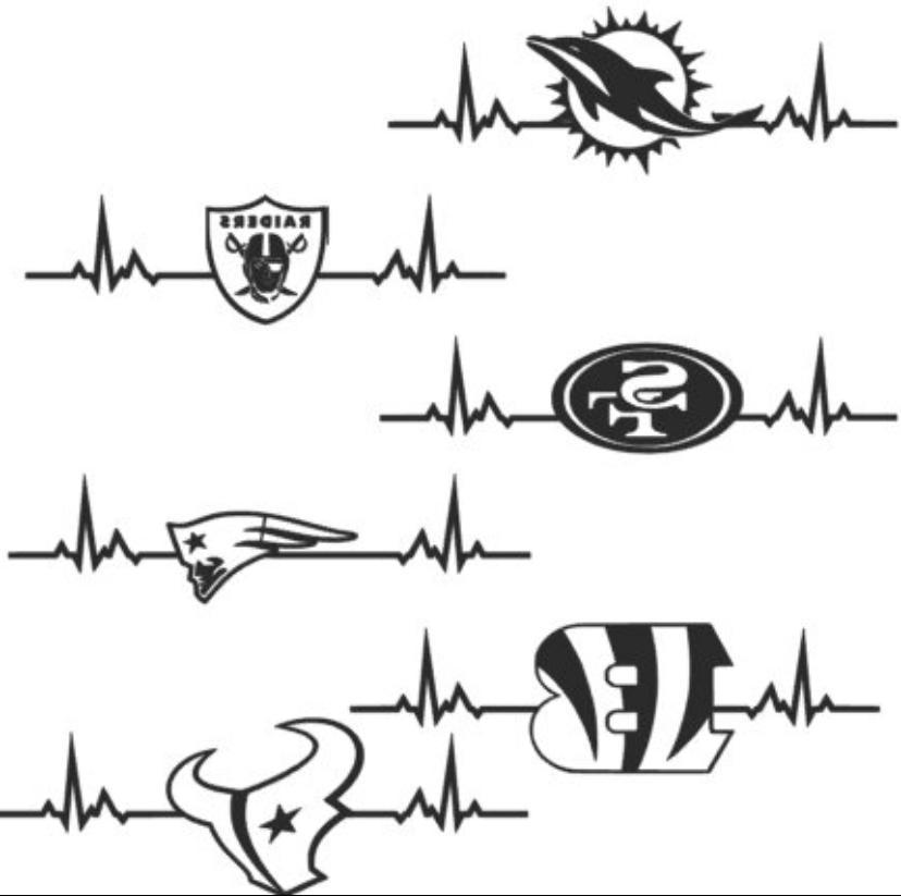 NFL Multiple Colors