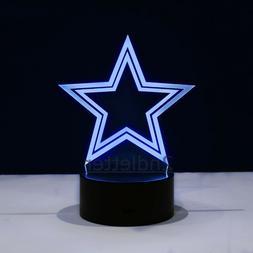 Denver Broncos LED Light Lamp Collectible Manning Flacco Hom