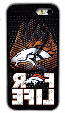 NEW DENVER BRONCOS NFL RUBBER PHONE CASE COVER FOR IPHONE 4