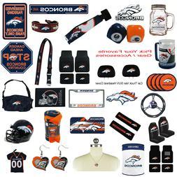 New NFL Denver Broncos Pick Your Gear / Automotive Accessori