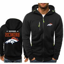 Newest Denver broncos Fans Hoodie Sporty Jacket Sweater Coat