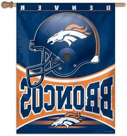NFL Denver Broncos 27-by-37-Inch Vertical Flag