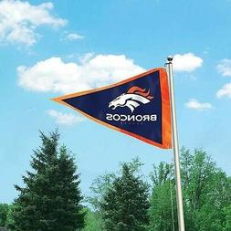 NFL Denver Broncos 3x5 Pennant Flag Nylon Outdoor/Indoor