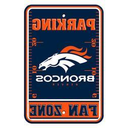 NFL Denver Broncos Home Room Office Bar Decor Parking Sign F