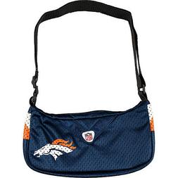 NFL Denver Broncos Jersey Team Purse, 12 x 3 x 7-Inch, Navy