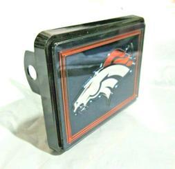 NFL Denver Broncos Laser Cut Trailer Hitch Cap Cover Univers