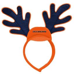 NFL Denver Broncos Reindeer Ears Christmas Team Headband~Men