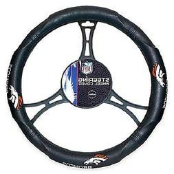 NFL Denver Broncos Synthetic Leather Premium Steering Wheel